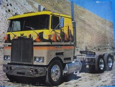 White Western Star - I believe this was a promo truck aimed at owner drivers
