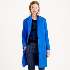 Collection bonded twill topcoat JCREW