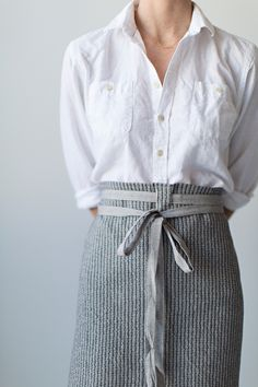 Utility Cloth + Apron   Sunday Suppers