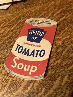 45$ Heinz 57 façons de servir la soupe condensée Tomate soup - 1953 - 40 pages - 15 cm X 8 cm