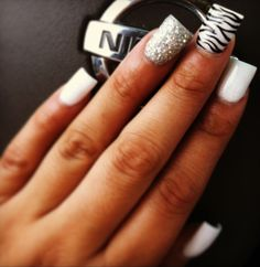 Acrylic nails | See more nail designs at http://www.nailsss.com/acrylic-nails-ideas/2/