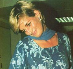 May 23, 1997: Princess Diana visited the Shaukat Khurram Trust Hospital in Lahore, Pakistan