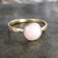 An Opal for my October Angel. Birthstone rings can be a beautiful reminder of your baby.