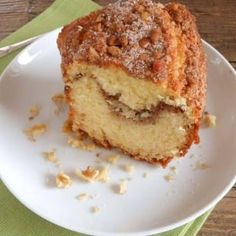 Cinnamon Walnut Coffee Cake one of the best and so easy homemeade cinnamon coffee cakes, the perfect made from scratch anytime desserts. Cupcakes, Cupcake Cakes, Bundt Cakes, Cinnamon Cake, Cinnamon Coffee, Sweet Recipes, Cake Recipes, Walnut Cake, Coffee Cake