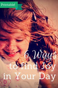 Author Tricia Goyer shares six ways moms can find joy in their day and includes printable encouragement. Scripture Verses, Printable Scripture, Choose Joy, Christian Encouragement, Christian Parenting, Finding Joy, Family Life, Inspire Me, At Least