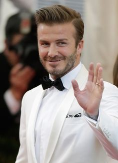Here are some pictures of David Beckham's latest hair style, if you're going to cut his cut , you can download the following images or show our site to your stylist, she/he will know how to cut your hair.    Here are more hair styles from David Beckham