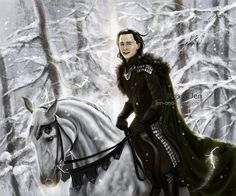 Prince Loki in snow