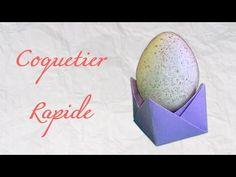 Origami ! Coquetier rapide [ HD ] - YouTube