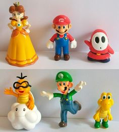 Free shipping High Quality PVC 6 pcs Super Mario Bros Action Figure Toy NEW#C wholesale and retail-in Action & Toy Figures from Toys & Hobbies on Aliexpress.com