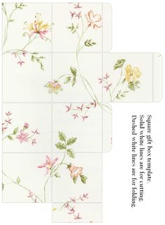 Square Gift Boxes - Katie Barwell - Picasa Web Albums