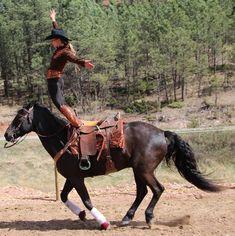 Trick riding, Hippodrome Stand