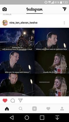 Ninth Doctor and Rose ❤