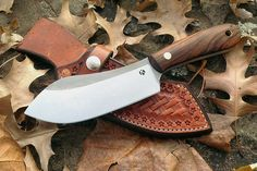 "The name ""Nessmuk"" comes from an avid outdoor sports writer named George W. Sears. He wrote many articles on canoeing and ultralight camping for magazines using ""Nessmuk"" as his pen name.        He wrote about the ""perfect knife kit"" for outdoors use. It consisted of a skinning knife, a double-bladed folding knife and a double-bit belt axe.  The skinning knife was based on a Green River knife pattern - also sometimes called a buffalo skinner.         Like the infamous Bowie knife, the…"