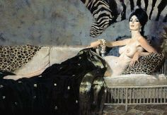 Modesty Blaise por Robert McGinnis... like my lindo menina !