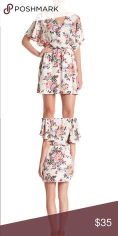 Surplice Neck Floral Dress Get ready for spring with this adorable little romper. Pants Jumpsuits & Rompers