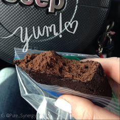 Chocolate superfood bars (vegan) 21-Day Fix recipe