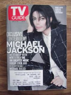 Michael Jackson TV Guide Issue (Dec. 4-10, 1999) W/5 Pg. Article Inside COLLECT - http://www.michael-jackson-memorabilia.com/?p=1566