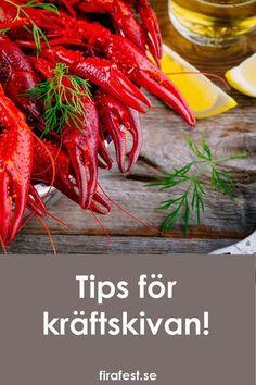 Tips för en lyckad kräftskiva!  #kräftskiva #kräftfest #kräftor #augustifest #festtips #festlekar #snapsvisor #s�nghäfte Gumbo, Party, Carrots, Vegetables, Recipes, Style, Alcohol, Okra, Swag