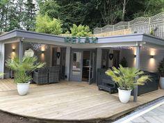 Jutka Gazebo Log Cabin x m - doppelt verglast # 678 m . - Jutka Gazebo Blockhaus x m – doppelt verglast # 678 m - Outdoor Office, Outdoor Living, Outdoor Decor, Outdoor Lounge, Outdoor Furniture, Shed Design, Garden Design, Cabin Design, Modern Gazebo