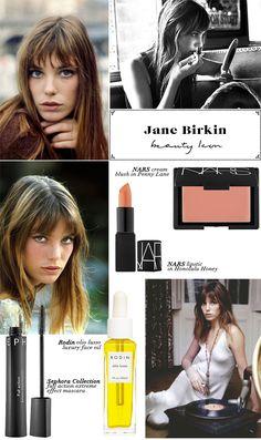 Beauty Icon: Jane Birkin