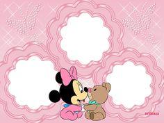 CHIARA - Molduras Digitais: Molduras Baby Disney