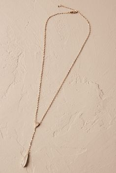 Lara Pendant Necklace from @BHLDN