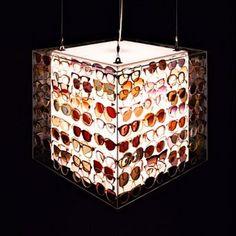 Decobel: Objetos reciclados: Lámparas (parte 1)