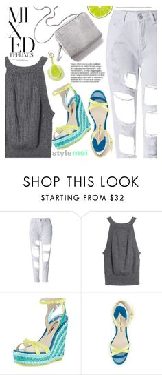 """""""Spring into Summer"""" by black-fashion83 ❤ liked on Polyvore featuring 3.1 Phillip Lim, Sophia Webster, Anya Hindmarch, polyvoreeditorial, polyvoreset and stylemoi"""