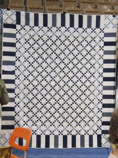 QuiltBee: quilt show - I always go back to a 9-patch
