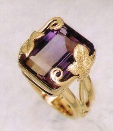 Ametrine Ivy Ring