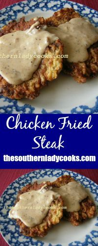 Chicken fried steak is one of my favorite dishes served with mashed potatoes and gravy.  Someone asked me for the recipe recently and I was totally surprised that I did not have it on my blog.  I g…