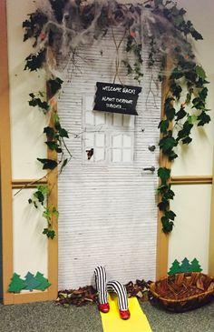 Door Decoration Halloween Decorations Welcome Back Sign