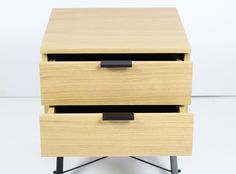 Double Bedside Table