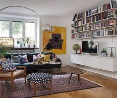 Scandinavian Living Room Designs I am not absolutely sure if you have noticed of a Scandinavian interior design. Home Living Room, Apartment Living, Interior Design Living Room, Living Room Designs, Living Room Decor, Living Spaces, Barn Living, Small Living, Modern Living