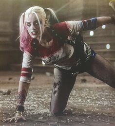 """bradsbuttchin: """" NEW - Margot Robbie as Harley Quinn in Suicide Squad Empire Magazine // October 2016 // Issue 328 Anna S. // 22.08.16 """""""