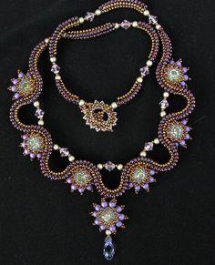 Mint Diamond Necklace by Cielo Design, via Flickr