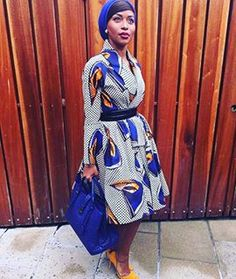 Here's Stylish african fashion African Dresses For Women, African Print Dresses, African Attire, African Wear, African Prints, African Style, African Outfits, African Inspired Fashion, African Print Fashion