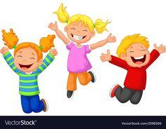 Illustration of Happy kid cartoon vector art, clipart and stock vectors. Cartoon Kids, Cartoon Images, Happy Cartoon, Kids Around The World, Party Invitations Kids, Poor Children, Art Children, Kids Fashion Boy, Babies Fashion