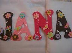 Resultado de imagen para letras para decorar