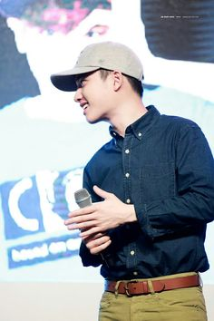 D.O. EXO at Hat's On Fanmeeting in Shanghai