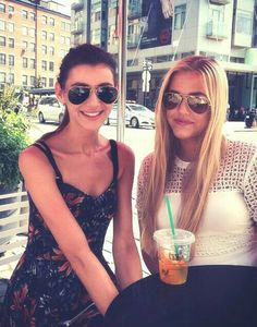 Lottie and Eleanor in New York