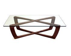 Bark Furniture Kustom Coffee Table - Contemporary Handmade Wooden Coffee Table