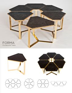 Top 9 Choices in Modern Coffee Tables - Life ideas Marble Furniture, Rustic Wood Furniture, Custom Made Furniture, Modular Furniture, Steel Furniture, Unique Furniture, Luxury Furniture, Furniture Design, Plywood Furniture