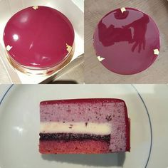 Best No Cost mirror glaze Cake recipe Style - yummy cake recipes Individual Desserts, Great Desserts, Gluten Free Desserts, Patisserie Design, Crazy Cakes, Delicious Cake Recipes, Yummy Cakes, Gateau Harry Potter, Tolle Desserts