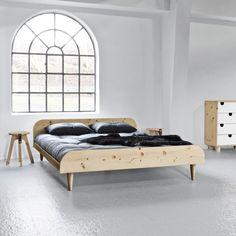 Łóżko Twist Says Who for Karup Natur, 160 cm | Bonami