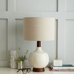 Modernist Table Lamp - Egg White #westelm Ok, I may be going crazy with this mid-century approach, but this lamp is also amazing (smaller than the taller 'bullet' lamp, but still oh-so-cool).