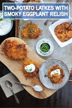 Potato latkes are a great breakfast, lunch, or dinner side dish during ...