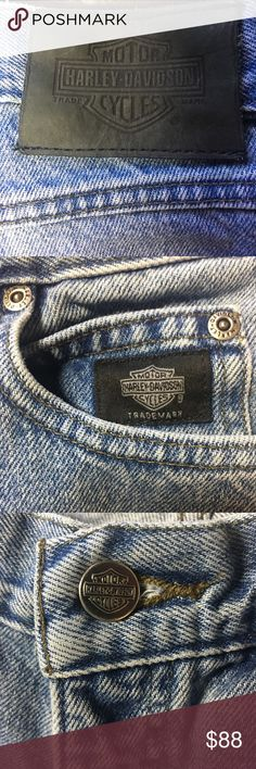 Harley Davidson Bootcut Jeans Size 8 Regular Bootcut  about 31 inches around the waist Harley-Davidson Jeans Boot Cut