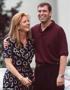 Prince Andrew and Sarah, after the divorce