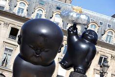 PHOTOS. Li Chen expose ses sculptures géantes place Vendôme